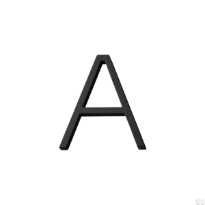 House numbering capital letter A Aluminum