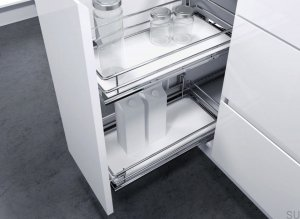 Pull-out insert DSA II white / chrome 300