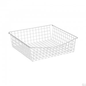 Wire basket 600/150 White