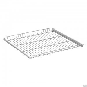 Grid shelf 600 Silver