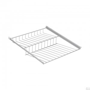 Shoe shelf 800 Silver