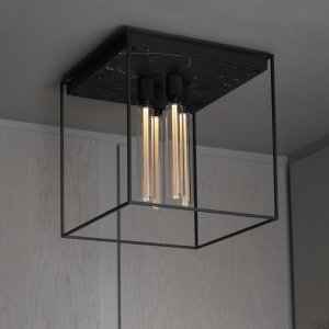 Ceiling Lamp 4.0 Ceiling Packaged Satin black marble