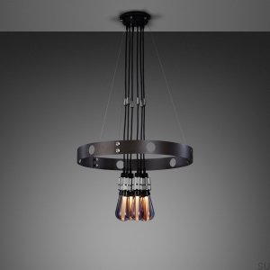Hero Light Hero Light chandelier graphite / steel 1.25M [A7101D]