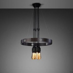 Hero Light Hero Light Chandelier Graphite / Smoked Bronze- 1.25M [A7104D]