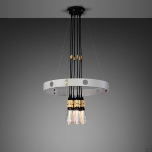 Hero Light Hero Light Chandelier Stone / Brass - 1.25M [A710L]