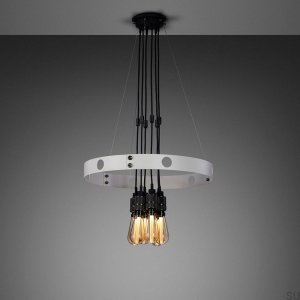 Hero Light Hero Light Stone / Smoked Bronze Chandelier - 1.25M [A7104L]