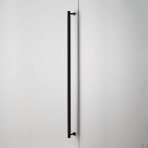 Furniture handle Closet Bar Metal Black
