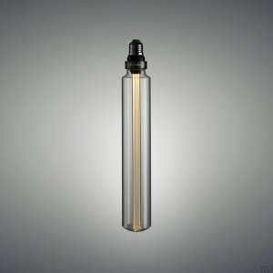 Buster LED E27 bulb tube, long overhang, Crystal dimmable