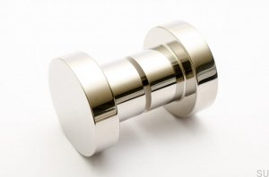 Door Knob Dot 50 Polished Stainless Steel