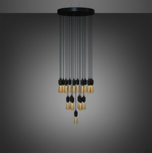 Classic Heavy Metal chandelier (selectable on request)