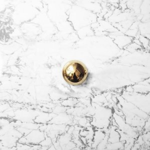 Furniture Knob ODETE (S) Polished and Lacquered Brass