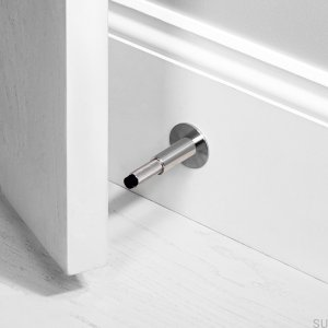Footer. Steel wall-mounted stopper