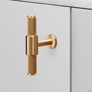 T-Bar Brass Gold furniture handle