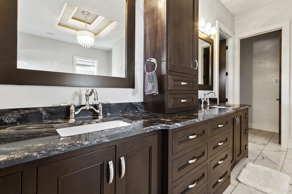 What handles for bathroom furniture?